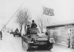 Naciz Tanks Cross the Border